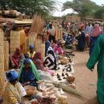 il coloratissimo mercato di Gorom Gorom