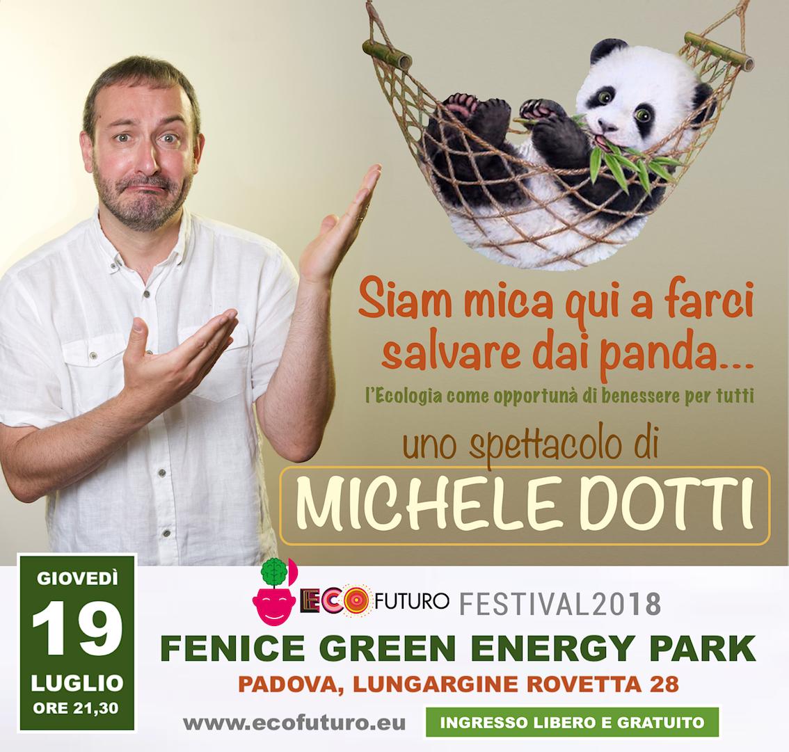 Locandina Michele Dotti - EcoFuturo 2018 light